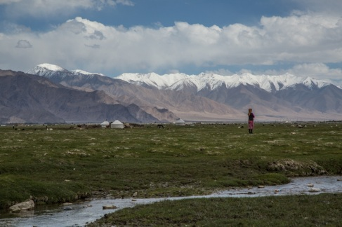 Tajik herder, Xinjiang