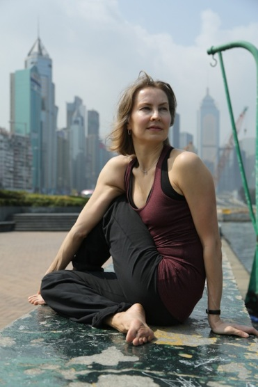 City Yoga with Olga Novikova, Hong Kong
