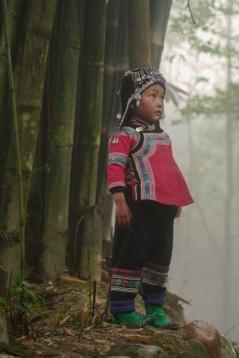 Forest girl, Yunnan