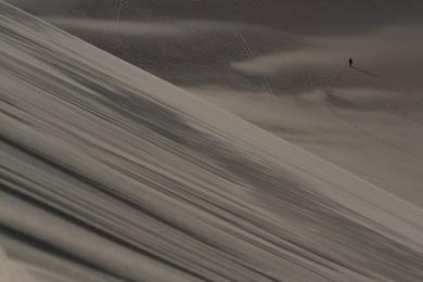 Singing Sand Dunes, Gansu