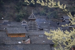 Zhaoxing in springtime
