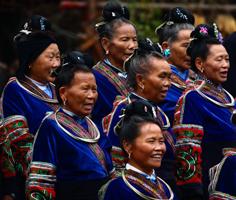 Miao Cultural Performance, Xijiang, Guizhou