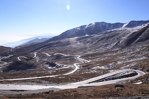 Road to Xining, Qinghai