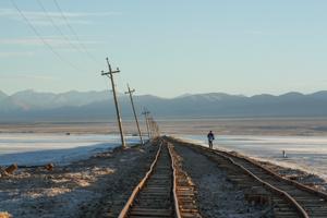 Chaka Salt Lake, Qinghai © Jo James