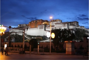 Potala Palace by night © Jo James