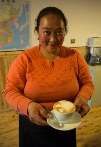 Latte Art in Xiahe