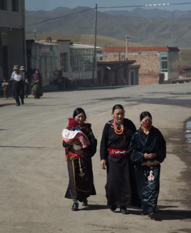 Glamourous nomads, Gartse