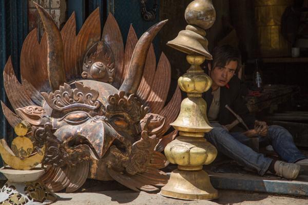 Metalworks, Kumbum Monastery
