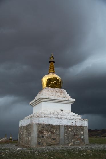 Storm, Qinghai Lake