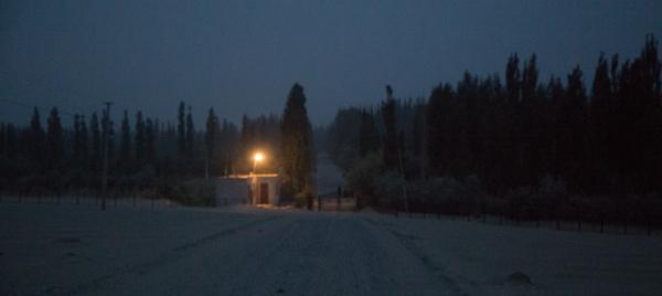 Dust storm, Zagunluk Tombs, Cherchen
