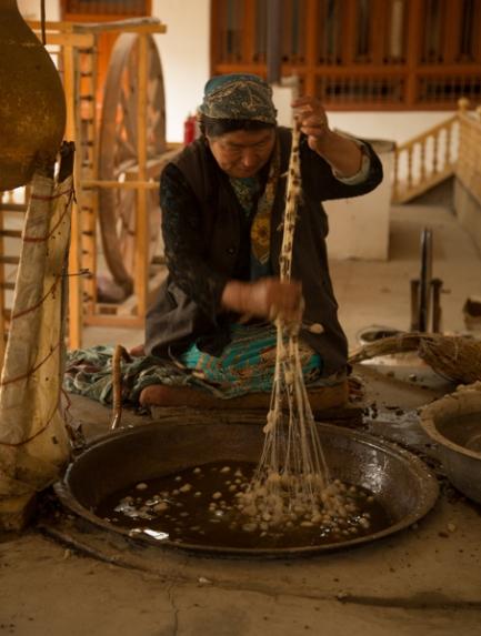 Silk-making, Khotan
