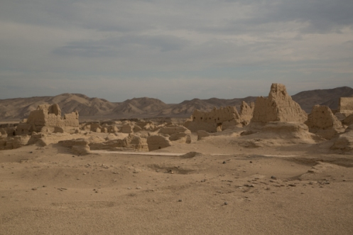 The Ruins of Jiaohe, Turpan