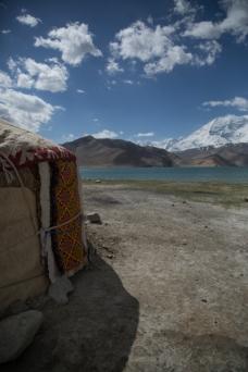 Yurt, Lake Karakul