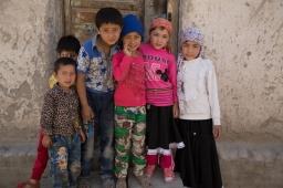 """""""Take a photo of us!"""", Yarkand"""