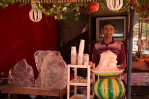 Ice Cream Vendor, Yarkand