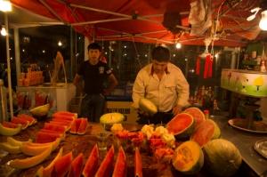 Melon Sellers, Urumqi