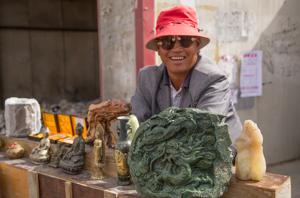 Jade trader, Golmud