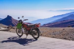 Bike in Qinghai