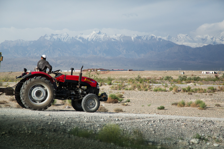 Tractor and Pamirs