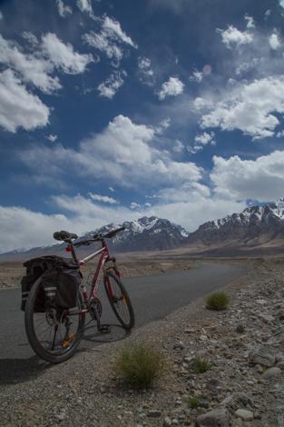 Karakoram Highway and Bike