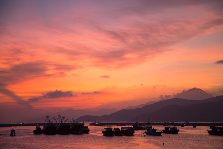 Sunset, Cheung Chau