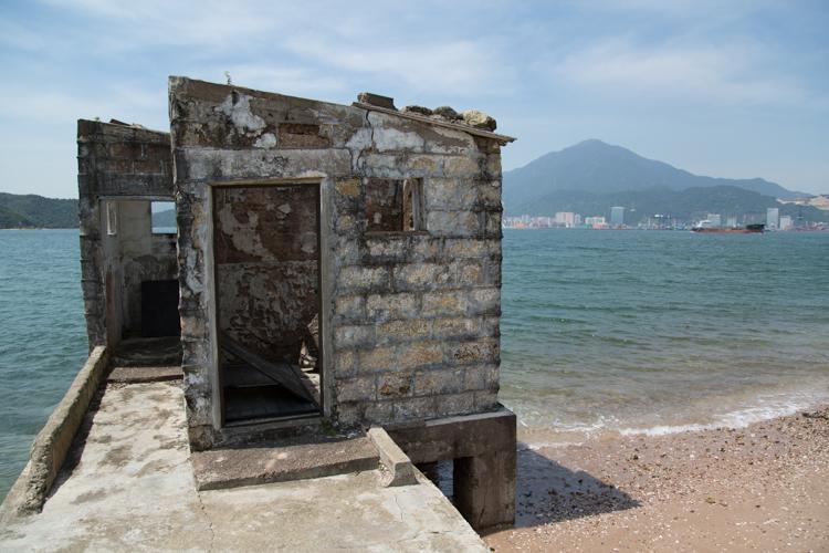 Abandoned shed, Ap Chau, Hong Kong