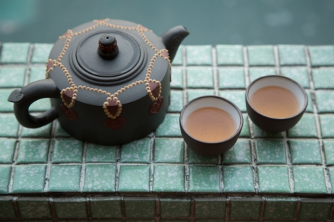Tea for two © Jo James