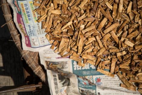 Sun-dried herbs, Hong Kong © Jo James