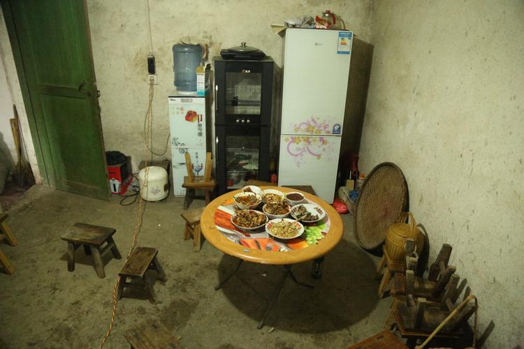 Family dinner, Guizhou