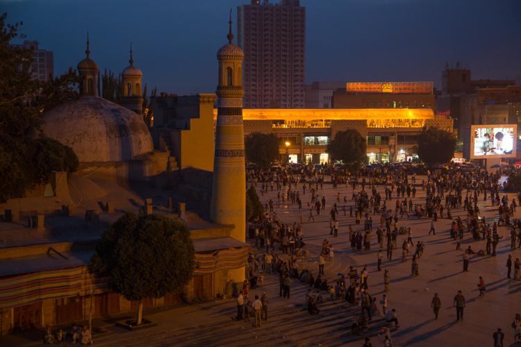 Kashgar's Id Kah Mosque, Xinjiang