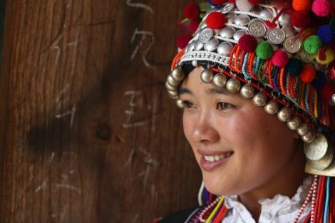 Aini girl, Xishuangbanna, Yunnan