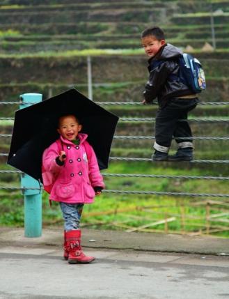 Brollies in Xijiang
