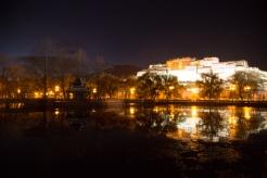 Potala Palace and reflection, Lhasa