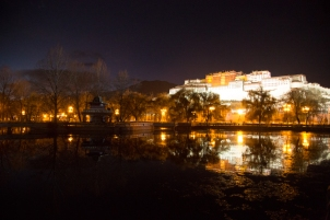 Potala Palace and reflection, Lhasa