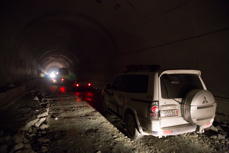 Tunnel, Sichuan