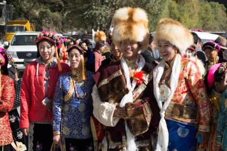 Tibetan Wedding, Danba