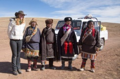 Fellow travellers, somewhere near the source of the Yangtze, Qinghai