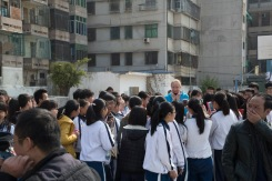 Paparazzi at Shanwei Middle School, Guangdong