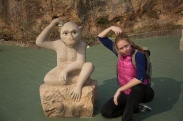 Me monkey, Guangdong