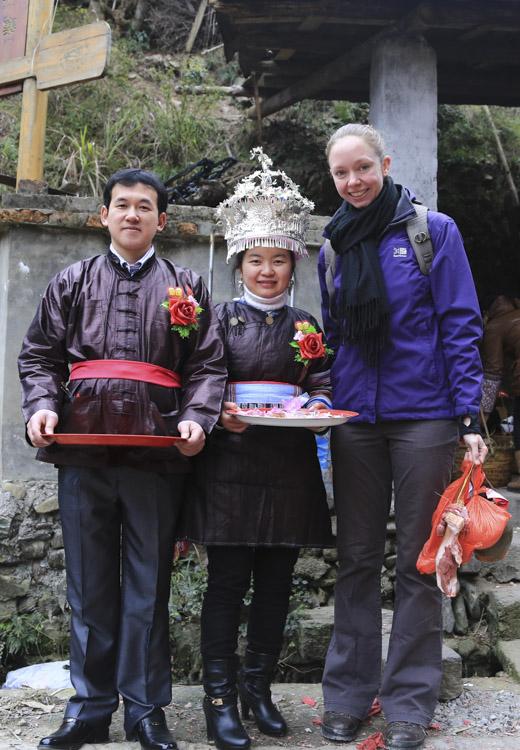 Wedding-crashing in Zhaoxing
