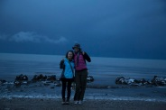 Freezing at Lake Qinghai, Qinghai