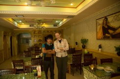 With the happiest person in Cherchen, Xinjiang