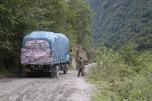 Um, I guess we'll wait? Near Tangmi, Tibet © Jo James