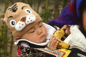 Baby at Yuanyang