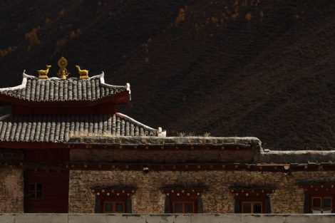 Monastery outside Lhagong, Sichuan
