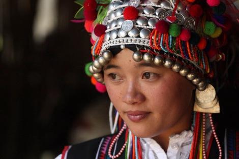 思故乡 - Thinking of home in an Aini village, Xishuangbanna © Jo James