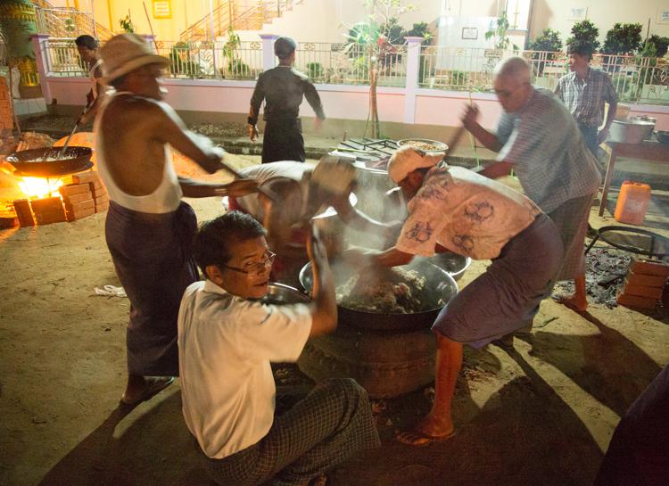 Burmese festival sticky rice, Bago