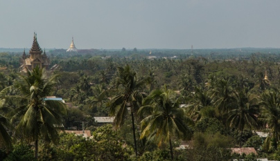 Bago, viewed from Hintha Gon