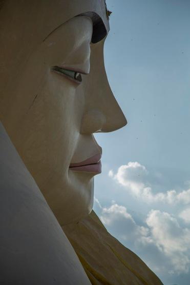 Myathalyaung Reclining Buddha, Bago