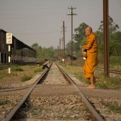 Crossing the tracks